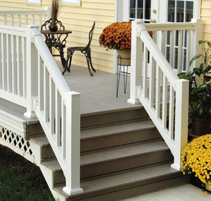 Add curb appeal by enhancing your porch for Fypon balustrade systems