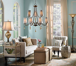 LAMPS PLUS Living Room