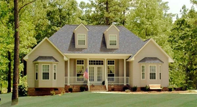 click to view plan HHF-2808, a cape cod house plan