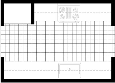 Chinese Restaurant Kitchen Layout galley kitchen layout plans. galley. home plan and house design ideas