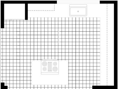 The basics of kitchen floor planning the island floor plan publicscrutiny Images