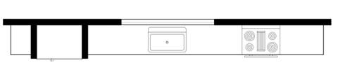 Single Wall Floor Plan