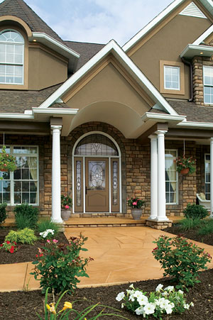 Therma-Tru fiberglass front entry doors