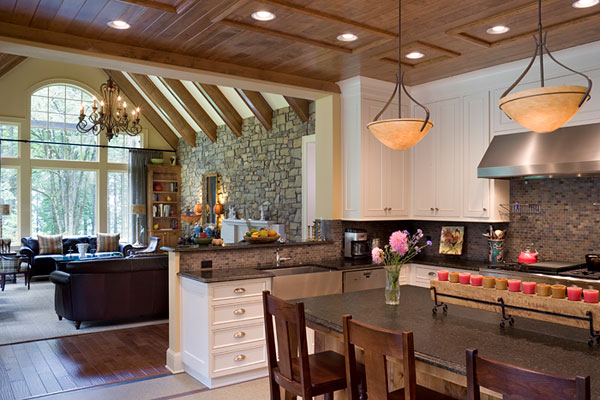 Create a spacious home with an open floor plan for Kitchen and great room designs
