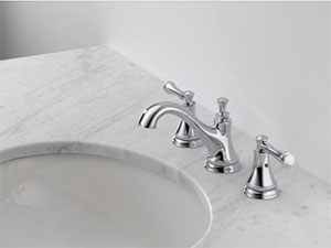 Delta Silverton Two-Handle Widespread Lavatory Faucet