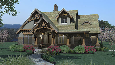 authentic craftsman house plan