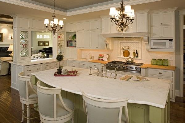 Superbe Gourmet Craftsman Kitchen House Plan