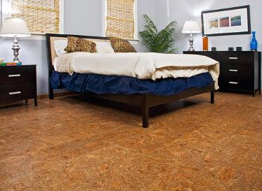 Easy EarthFriendly Flooring - Cork flooring bedroom