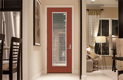 Therma-Tru Smooth-Star with Internal Blinds