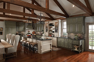 KraftMaid Classical Traditional Kitchen