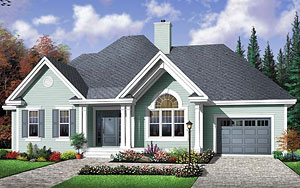 country-style home plan