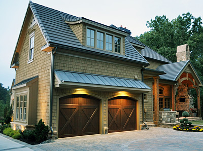 Clopay® RESERVE® WOOD COLLECTION Custom Series Garage Doors