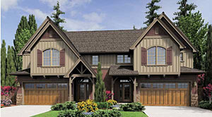 Duplex House Plan 5899