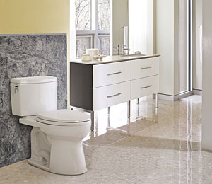 Toto Eco Drake Transitional Toilet