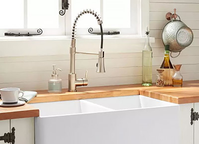 Signature Hardware Steyn Kitchen Faucet