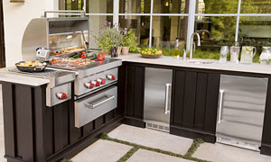 Wolf Outdoor Kitchen