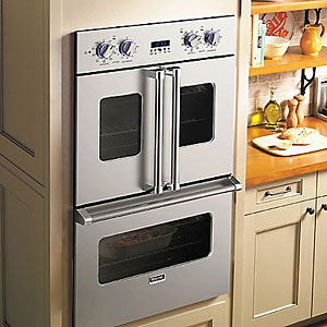 "Viking 30"" Electric Double French-Door Oven"