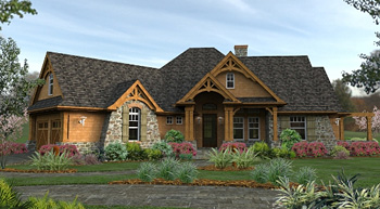 best-selling craftsman house plan