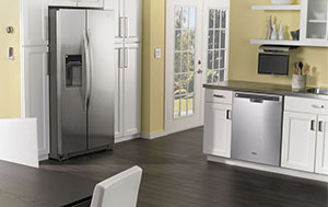 Whirlpool Dishwasher with 6th Sense Live Technology