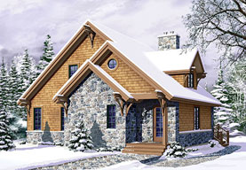 rustic mountain home plans - Rustic Mountain Home Designs