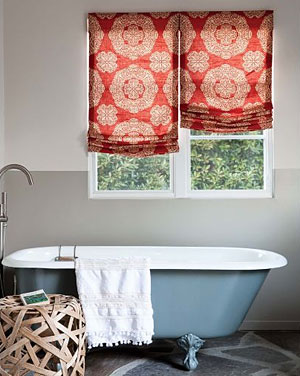 smith+noble Relaxed Roman Fabric Shades