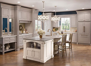 Latest trend in kitchen cabinets home design for Latest kitchen cabinet trends