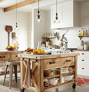 Fireclay Tile Rustic and Traditional Kitchen