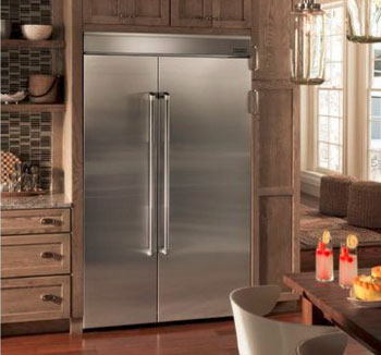 Jenn-Air 48-Inch Built-In Side-by-Side Refrigerator