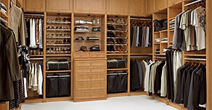 California Closets Walk-In Closet
