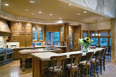What women want in home design for Award winning kitchen island designs