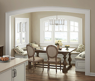 Marvin Next Generation Ultimate Double Hung Round Top Window