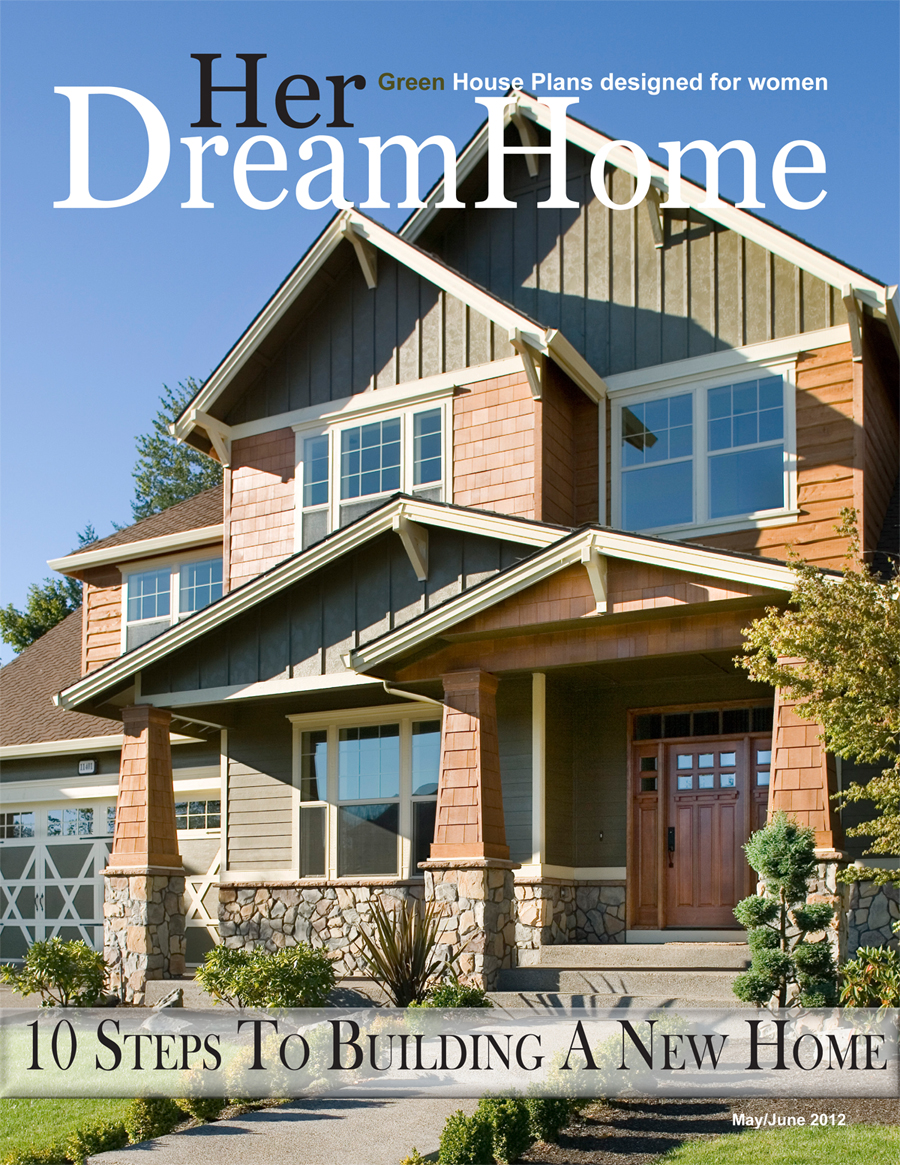 Latest issue of her dream home magazine features step by for Dream homes magazine