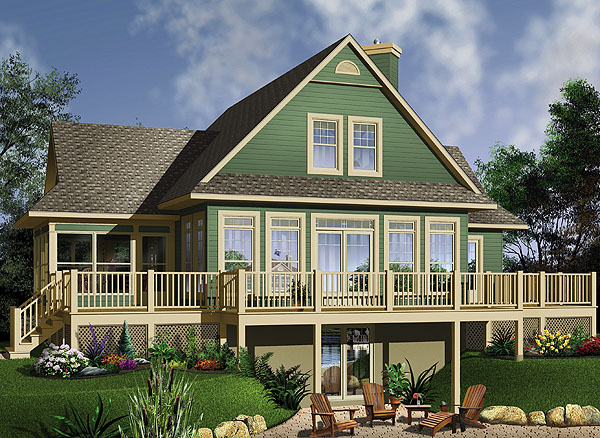 Top 10 best selling lake house plans 2 will make you for Best lake house plans