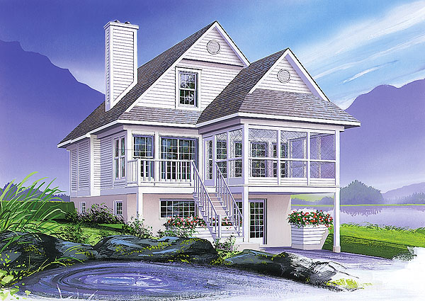 Top 10 best selling lake house plans 2 will make you for Home selling design