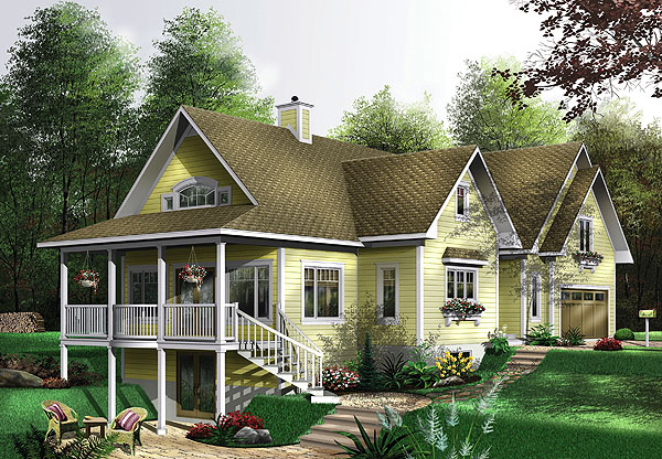 House Plan 1189 Exterior
