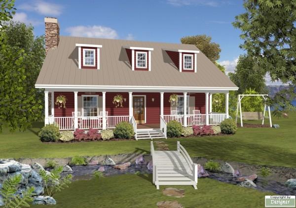 House Plan 4692 Exterior
