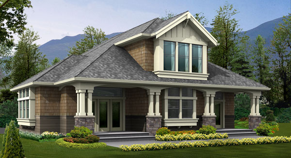 8 detached garages every man dreams of dfd house plans for House plans with detached guest house
