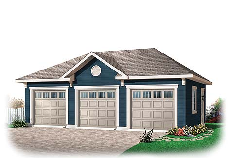 3 Bay Shop Plans – 3 Bay Garage Plans