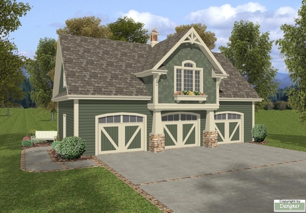 craftsman styling then you will love plan 7125 with three garage
