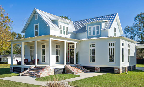 Classic Country Farmhouse Home Plan 9772 DFD House Plans
