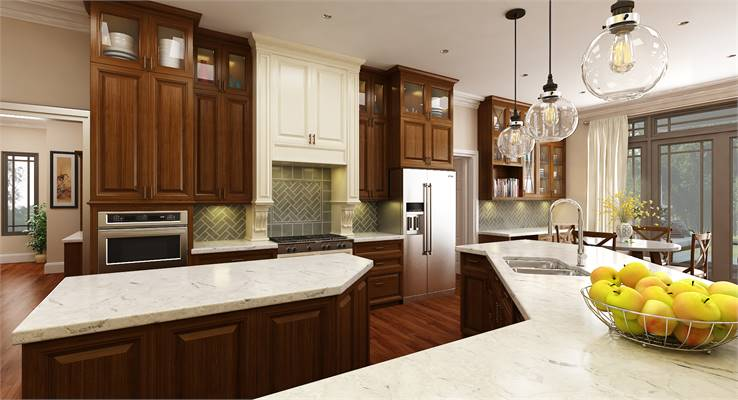 House Plan 9898 entertainer's kitchen