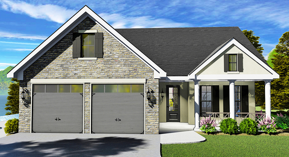New Must-See House Plans of 2019! - DFD House Plans Blog on home front door designs, ranch house french doors, ranch house exterior doors, ranch house front windows, ranch house double entry doors, ranch house bathroom design,