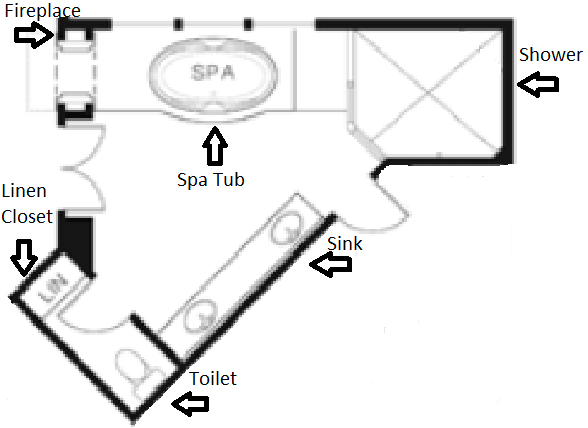 Bathroom: Reading A Floor Plan