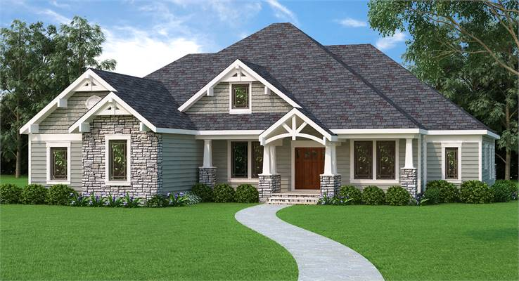3 Bedroom House Plans: House Plan 9898