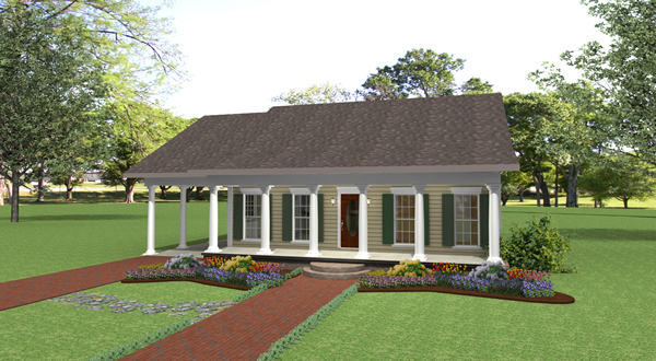 House Plans with Carport