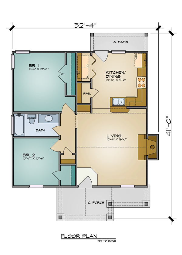 House Plan 7105 First Floor Dfd House Plans Blog