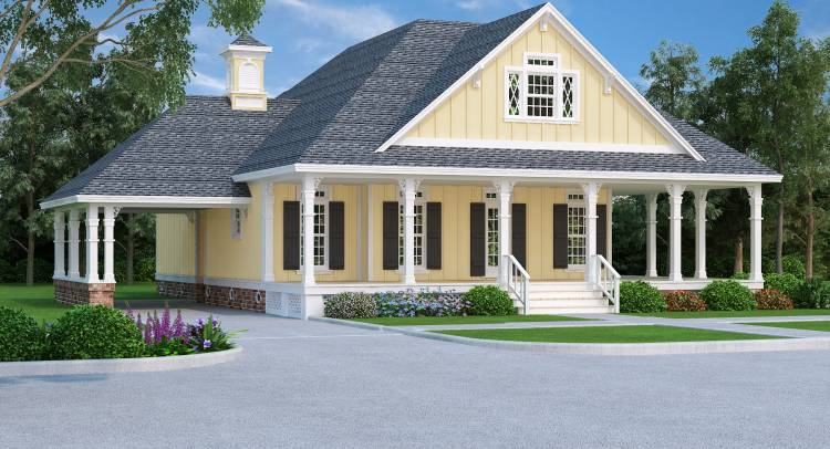 House Plans with Carports