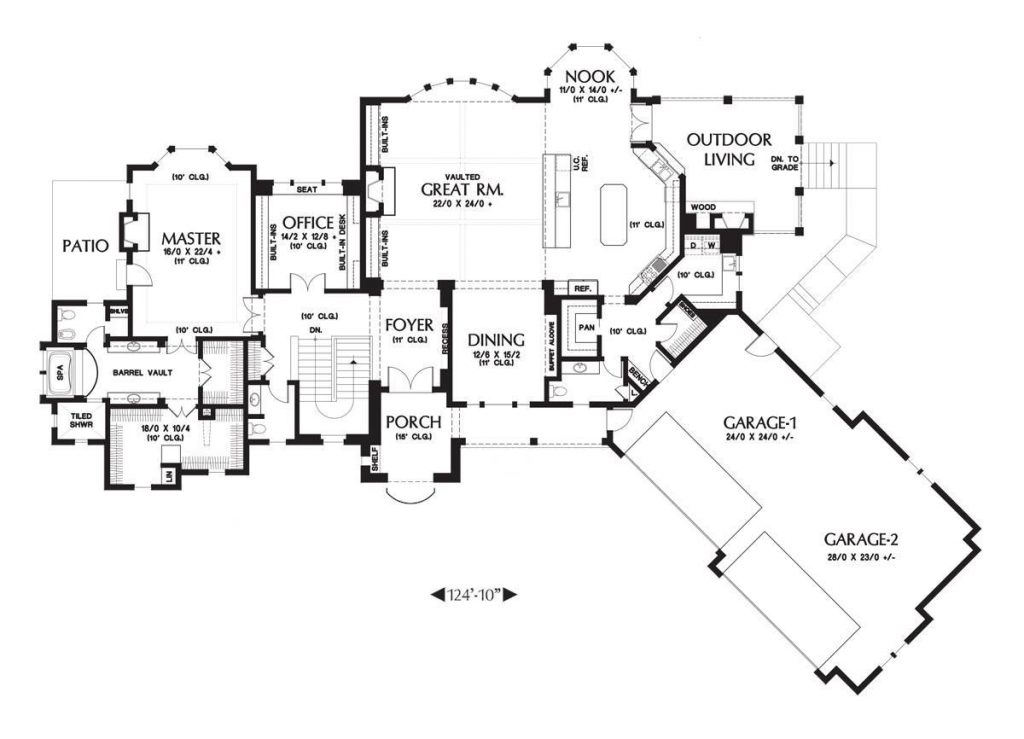 Spacious 4 Car Garage House Plans That Wow Dfd House Plans,What Do Different Discharge Colors Mean