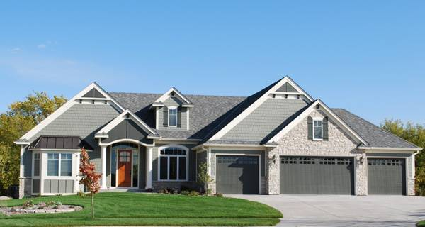 3 Car Garage House Plans