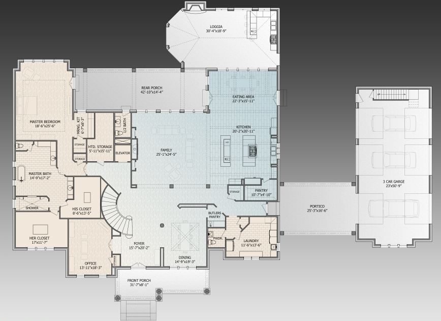 House Plans with Two Master Suites